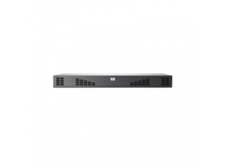 Hewlett Packard Enterprise AF619A KVM-switch Rack-montage Zwart